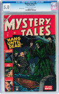 Golden Age (1938-1955):Horror, Mystery Tales #11 (Atlas, 1953) CGC VG/FN 5.0 Cream to off-whitepages....