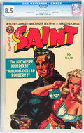 Golden Age (1938-1955):Crime, The Saint #12 Mile High pedigree (Avon, 1952) CGC VF+ 8.5 Off-white to white pages....
