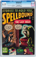 Golden Age (1938-1955):Horror, Spellbound #8 (Atlas, 1952) CGC FN 6.0 Cream to off-white pages....