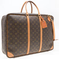 "Luxury Accessories:Accessories, Louis Vuitton Classic Monogram Canvas Sirius 50 Softsided Suitcase.Good Condition. 19"" Width x 14"" Height x 6"" Depth..."
