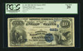 National Bank Notes:Pennsylvania, Franklin, PA - $10 1882 Date Back Fr. 545 The Lamberton NB Ch. #(E)5221. ...