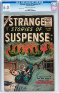 Silver Age (1956-1969):Horror, Strange Stories of Suspense #9 (Atlas, 1956) CGC FN 6.0 Cream tooff-white pages....
