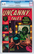 Golden Age (1938-1955):Horror, Uncanny Tales #7 (Atlas, 1953) CGC FN 6.0 Cream to off-whitepages....