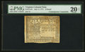 Colonial Notes:Virginia, Virginia July 11, 1771 £5 Contemporary Counterfeit PMG Very Fine 20Net.. ...