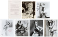 Movie/TV Memorabilia:Photos, Jayne Mansfield, Mitzi Gaynor, Sophia Loren, Stella Stevens, Angie Dickinson, and Rita Gardner Signed Photographs.... (Total: 7 )