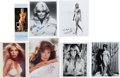 Movie/TV Memorabilia:Photos, Bo Derek, Stella Stevens, Loni Anderson, Ann-Margret, Farrah Fawcett, Jacqueline Smith, and Brigitte Bardot Signed Photographs... (Total: 6 Items)