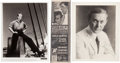 Movie/TV Memorabilia:Photos, Harry Carey, Burt Lancaster, and Douglas Fairbanks Jr. Signed Photographs.... (Total: 3 )