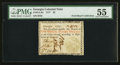 Colonial Notes:Georgia, Georgia 1777 $2 PMG About Uncirculated 55.. ...