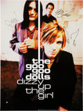 Music Memorabilia:Autographs and Signed Items, Goo Goo Dolls Signed Poster (1998)....