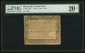 Colonial Notes:Maryland, Maryland June 8, 1780 $1/3 PMG Very Fine 20 Net.. ...