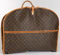"Luxury Accessories:Accessories, Louis Vuitton Classic Monogram Canvas Garment Bag. Very GoodCondition. 21"" Width x 38.5"" Height x 2"" Depth. ..."