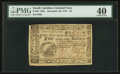 Colonial Notes:South Carolina, South Carolina December 23, 1776 $4 PMG Extremely Fine 40.. ...