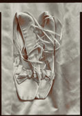 Photographs, OLIVIA PARKER (American, b. 1941). Miss Appleton's Shoes, 1976. Toned gelatin silver, printed 1980. 6-5/8 x 4-3/4 inches...