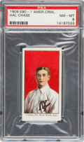 Baseball Cards:Singles (Pre-1930), 1909-11 E90-1 American Caramel Hal Chase PSA NM-MT 8 - The HighestGraded Example! ...