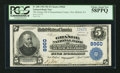 National Bank Notes:Pennsylvania, New Milford, PA - $5 1902 Plain Back Fr. 600 The Grange NB ofSusquehanna County Ch. # 8960. ...