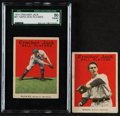 Baseball Cards:Lots, 1915 E145-2 Cracker Jack Baseball Card Pair (2). ...