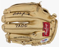 Baseball Collectibles:Others, Dave Winfield Signed Mini Gold Glove....