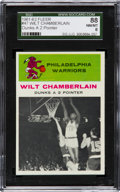 Basketball Cards:Singles (Pre-1970), 1961 Fleer Wilt Chamberlain IA #47 SGC 88 NM/MT 8....