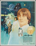 "Movie Posters:Science Fiction, Star Wars & Others Lot (20th Century Fox, 1977). PromotionalTie-In Poster (18"" X 24""), Personality Poster (23.5"" X 33""), Me...(Total: 5 Items)"