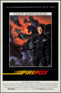 """Firefox (Warner Brothers, 1982). One Sheets (2) (27"""" X 41"""") Regular & Advance. Action. ... (Total: 2 I..."""