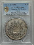 Mexico, Mexico: Republic 8 Reales 1827 Go-MR XF Details (Cleaned) PCGS,...