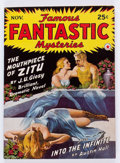 Pulps:Science Fiction, Famous Fantastic Mysteries - November '42 (Frank A. Munsey Co.,1942) Condition: VF....