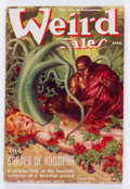 Pulps:Horror, Weird Tales - April '38 (Popular Fiction, 1938) Condition: VG+....