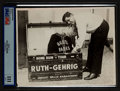 Baseball Collectibles:Photos, 1920's Babe Ruth Original Photograph, PSA/DNA Type III....