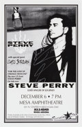 Music Memorabilia:Autographs and Signed Items, Steve Perry Mesa Amphitheater Autographed Concert Poster (1994)....