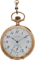 Baseball Collectibles:Others, 1911 Louis Drucke New York Giants Most Popular Player Presentational Pocket Watch....