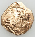 Ancients:Byzantine, Ancients: Andronicus II Palaeologus, with Michael IX (1282-1328).AV hyperpyron (2.78 gm)....