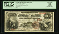 National Bank Notes:Pennsylvania, Warren, PA - $10 1882 Brown Back Fr. 480 The First NB Ch. # 520....