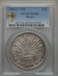 Mexico, Mexico: Republic 8 Reales 1885 C-AM XF40 PCGS,...
