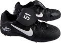 Baseball Collectibles:Others, 2009 Randy Johnson Game Worn Cleats. ...