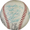 Baseball Collectibles:Balls, 1969 National League All-Star Team Signed Baseball. ...