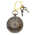 Timepieces:Pocket (post 1900), John Forrest Silver Fusee Fancy Dial Pocket Watch. ...