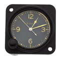 Timepieces:Clocks, Waltham 8-Day Military Aircraft Vintage Clock. ...