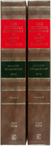 Books:Business & Economics, [Economics]. Malachy Postlethwayt. The Universal Dictionary ofTrade and Commerce, Vols. I & II. New York: Augus...(Total: 2 Items)