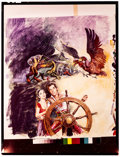 """Movie Posters:Fantasy, The 7th Voyage of Sinbad (Columbia, R-1975). Color Transparency (6.25"""" X 8.5"""") Style B. Fantasy.. ..."""