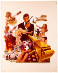 "Movie Posters:James Bond, The Man with the Golden Gun (United Artists, 1974). Poster ArtColor Transparency (8"" X 10""). James Bond.. ..."