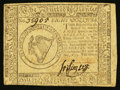 Colonial Notes:Continental Congress Issues, Continental Currency May 10, 1775 $8 Very Fine.. ...