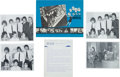 Music Memorabilia:Documents, Beatles US Radio Station Promotional Material, 1964 and 1965....