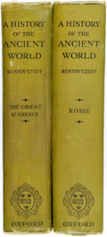 Books:World History, M. Rostovtzeff. A History of the Ancient World. Volume I: The Orient and Greece. [and:] Volume II:... (Total: 2 Items)