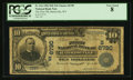 National Bank Notes:West Virginia, Harrisville, WV - $10 1902 Date Back Fr. 616 The First NB Ch. # S 6790. ...