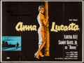"Movie Posters:Black Films, Anna Lucasta (United Artists, 1958). British Quad (30"" X 40"").Black Films.. ..."