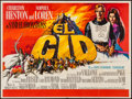 "Movie Posters:Adventure, El Cid (Rank, 1961). British Quad (29.75"" X 40""). Adventure.. ..."
