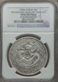 China:Kiangnan, China: Kiangnan Dollar CD 1904 Fine Details (Chopmarked) NGC,...