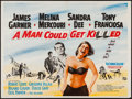 "Movie Posters:Comedy, A Man Could Get Killed (Rank, 1966). British Quad (29.5"" X 40""). Comedy.. ..."