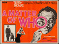"Movie Posters:Crime, A Matter of WHO (MGM, 1961). British Quad (29.75"" X 40""). Crime....."