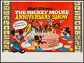 "Movie Posters:Animation, Mickey Mouse Anniversary Show (Walt Disney Productions, 1970s). British Quad (29.5"" X 40""). Animation.. ..."